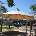 White Giant Umbrella | Commercial Giant Umbrellas