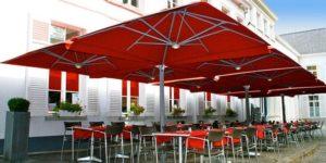 Commercial Giant Umbrellas   Brisbane Shade & Sails