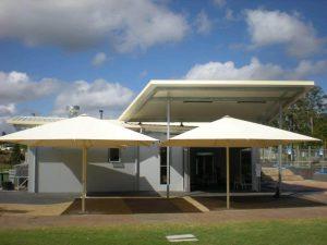Brisbane Giant Umbrellas | Commercial Patio Umbrellas
