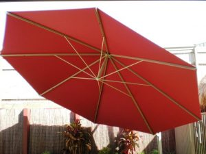 Red Giant Umbrella Brisbane